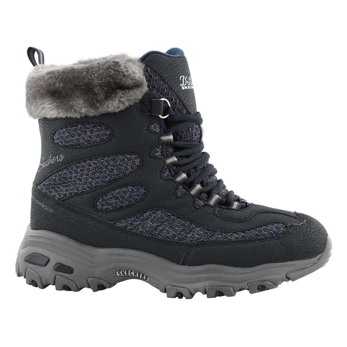 Lds D'Lites Bomb Cyclone nvy winter boot