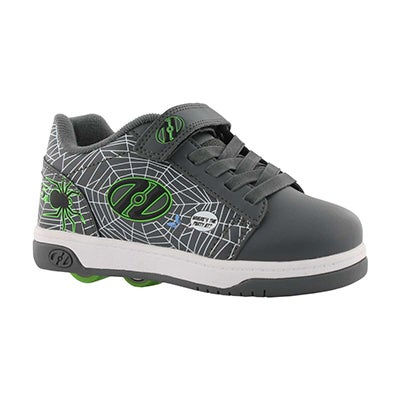Bys Dual Up x2 gry/grn web skate sneaker