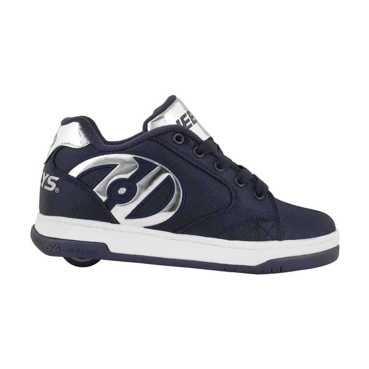 Bys Propel 2.0 navy/slvr skate sneaker