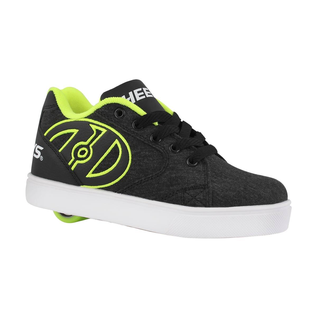 Bys Vopel blk/yllw skate sneaker