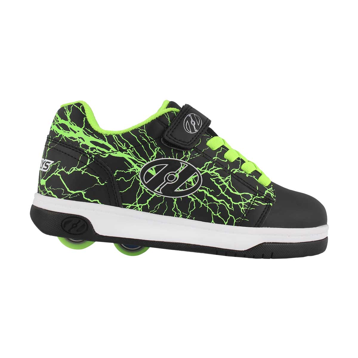Bys Dual Up x2 blk/yellow skate sneaker