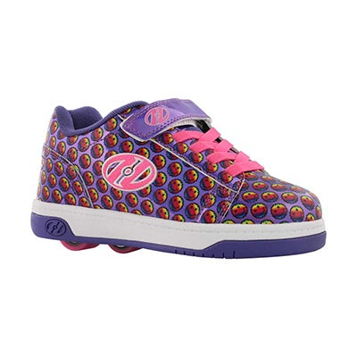 Grls Dual Up x2 ppl smiles skate sneaker