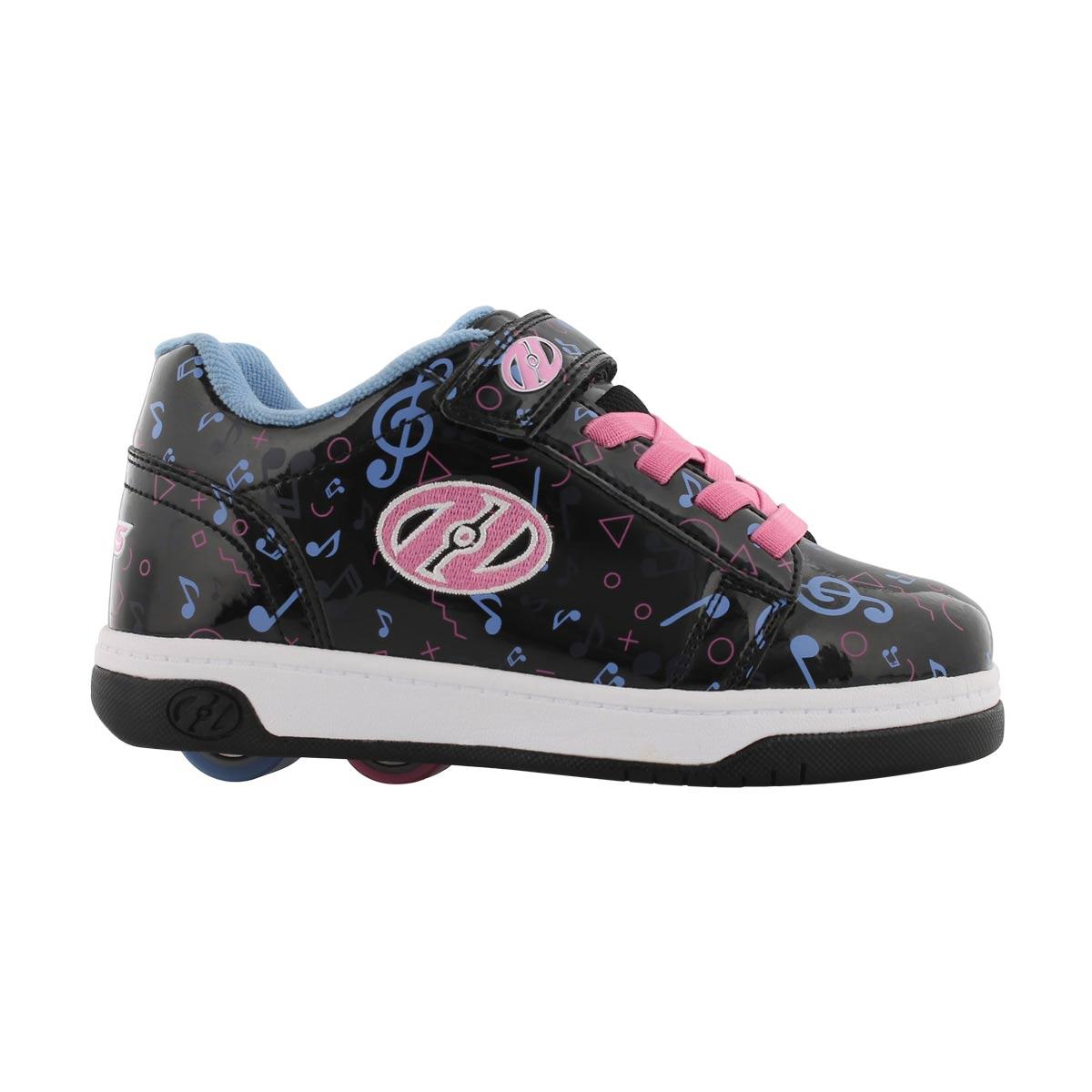 Grls Dual Up x2 blu/pnk skate sneaker