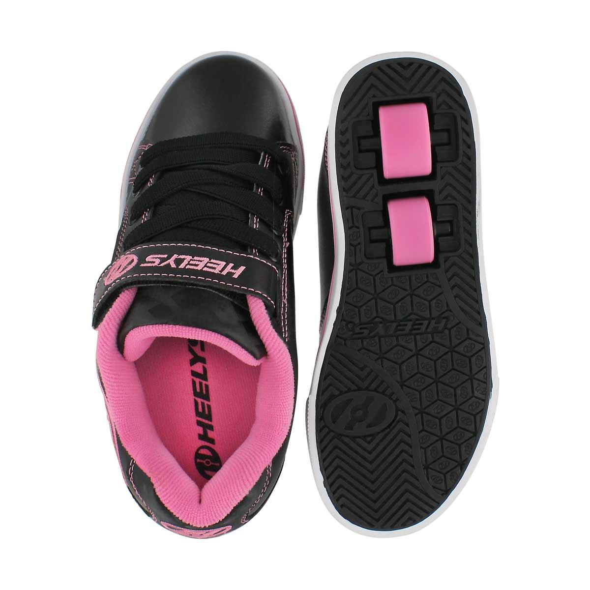 Grls Vopel x2 black/pink skate sneaker