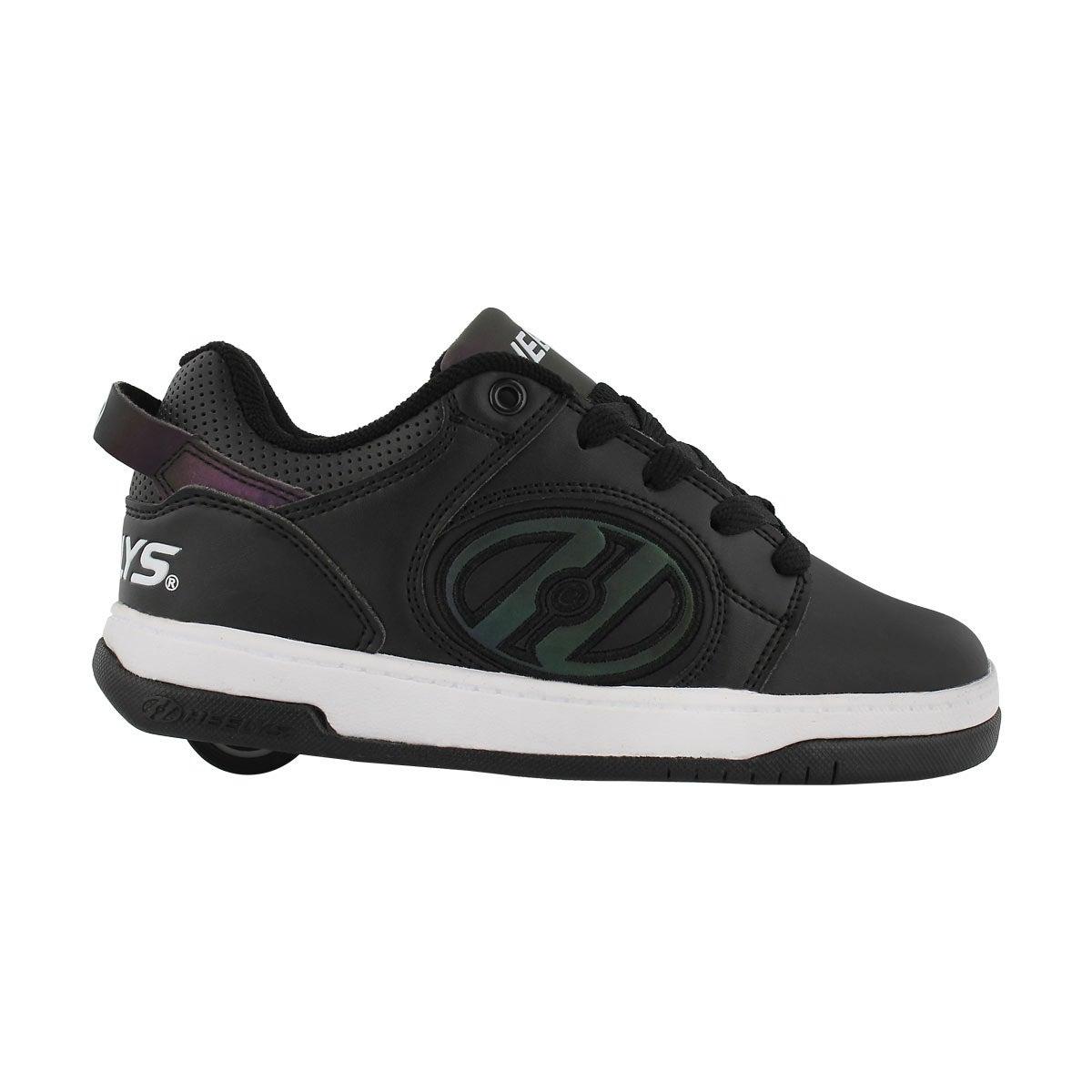 Bys Voyager blk reflective skate sneaker