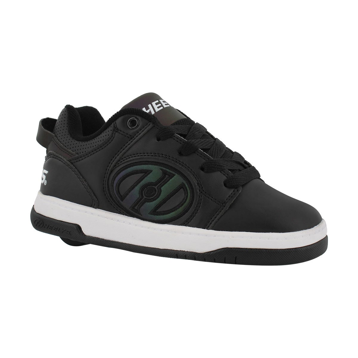 Boys' VOYAGER black reflective skate sneakers