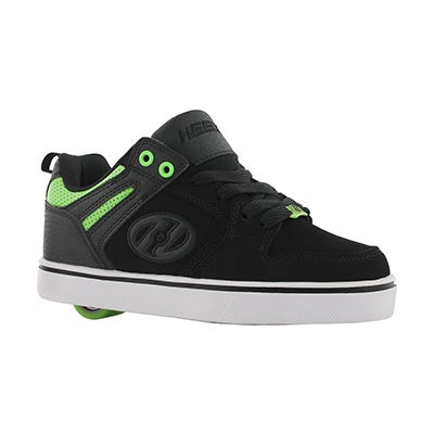 Bys Motion 2.0 blk/grn skate sneaker