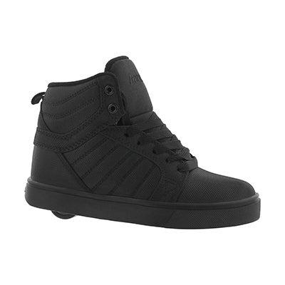 Bys Uptown blk hi top skate sneaker