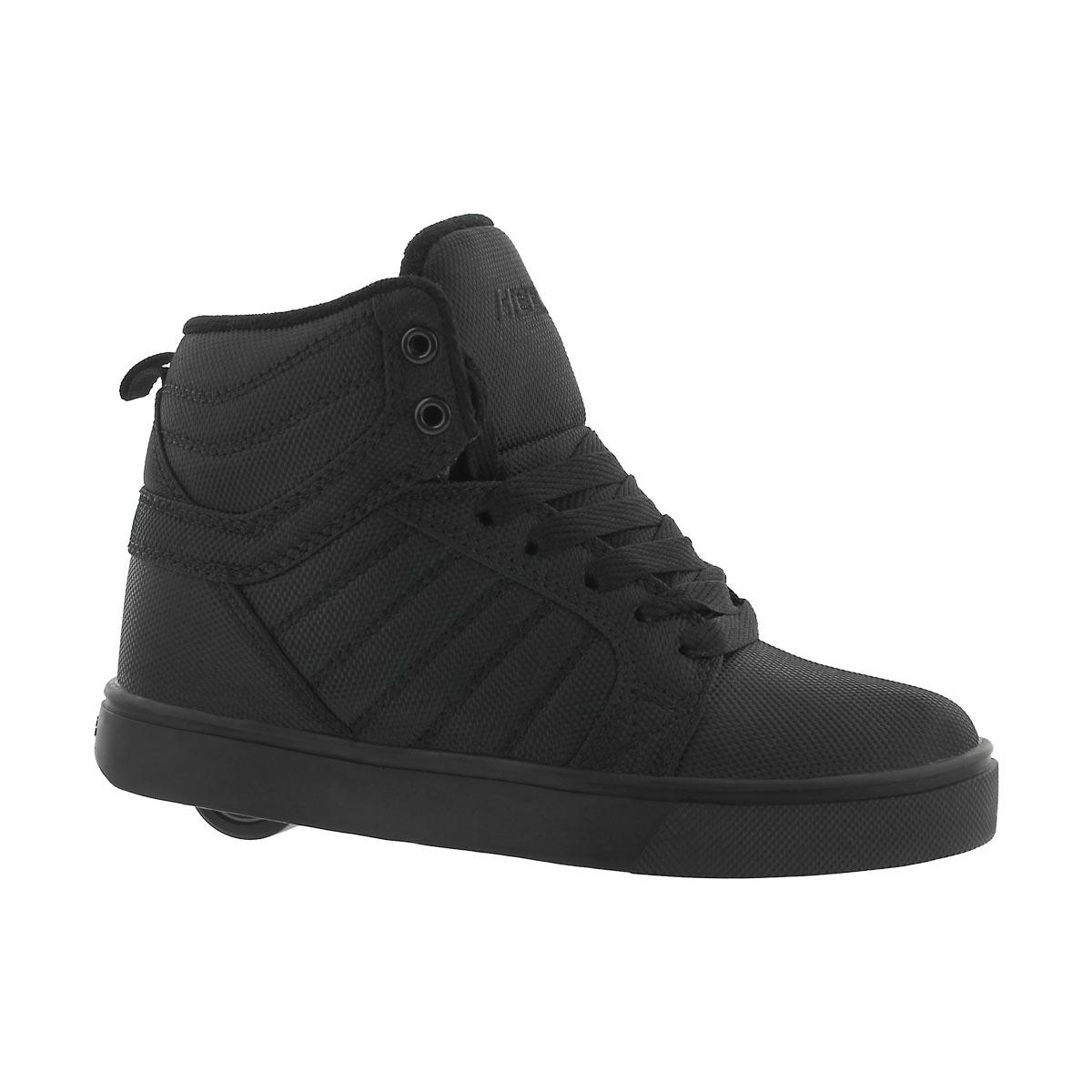 Boys' UPTOWN black hi top skate sneakers