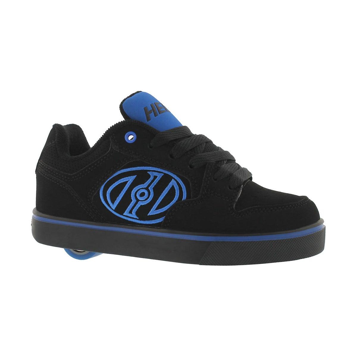 Boys' MOTION PLUS black/blue skate sneakers