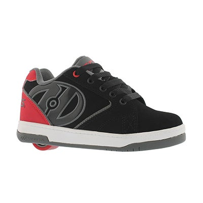 Bys Propel 2.0 blk/red/gry skate sneaker
