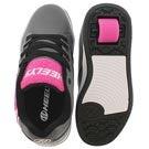 Grls Propel Terry gry/pnk skate sneaker