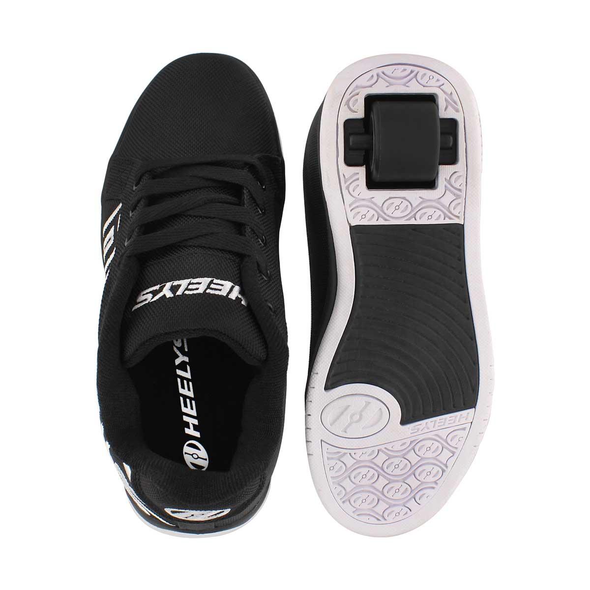 Bys Split blk/wht skate sneaker