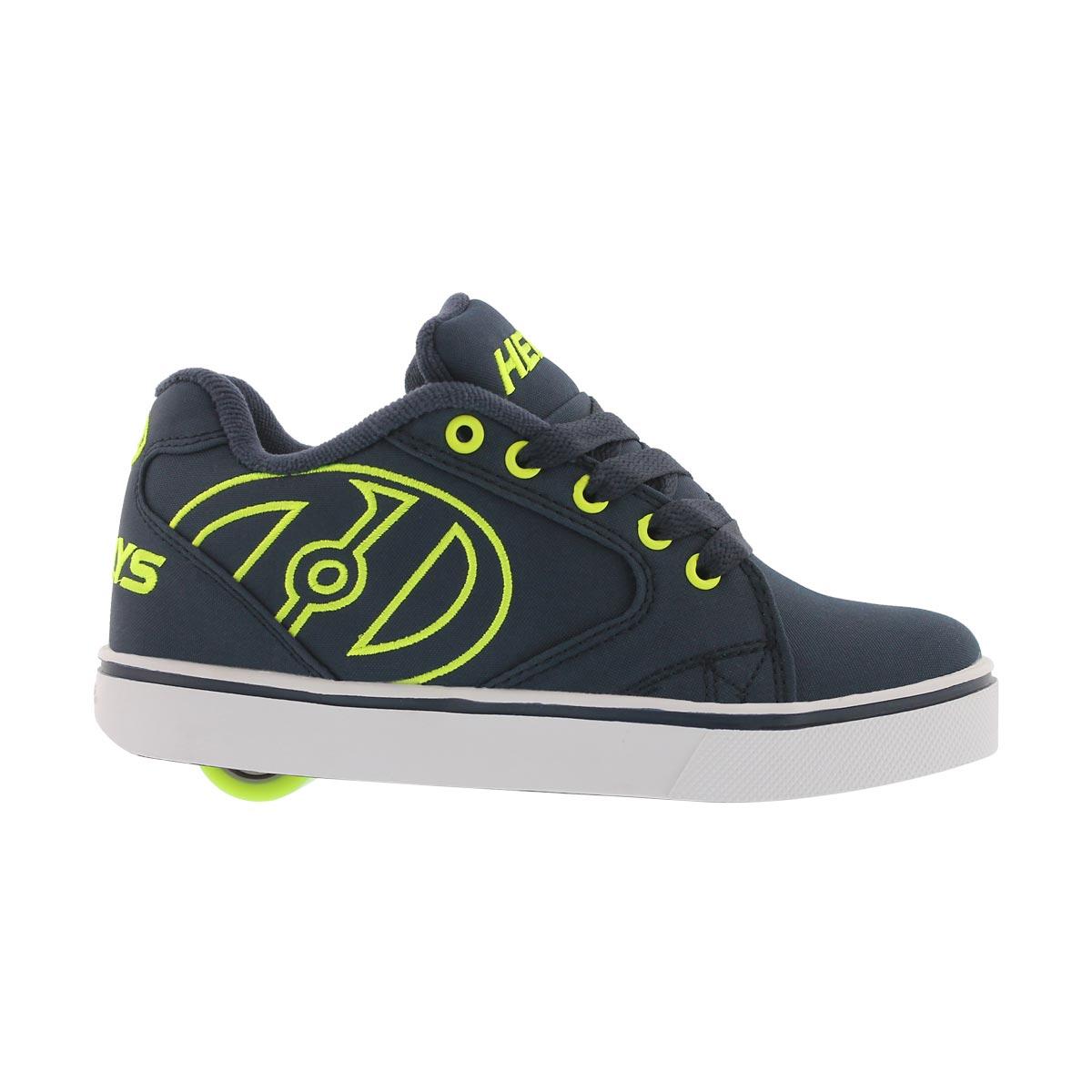 Bys Vopel nvy/bright ylw skate sneaker