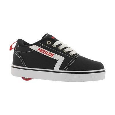 Bys Gr8 Pro blk/wht/red skate sneaker