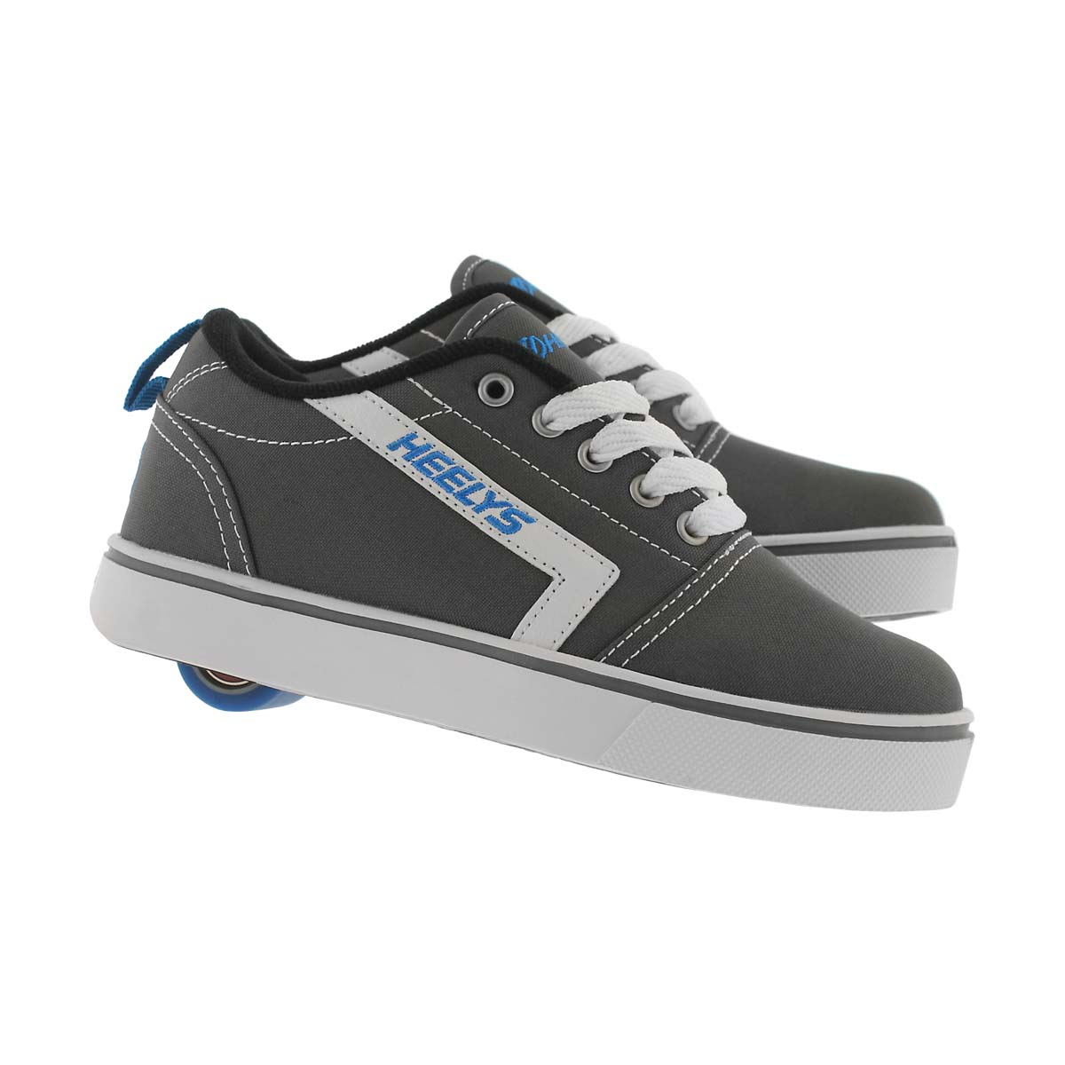 Bys Gr8 Pro gry/wht/blu skate sneaker