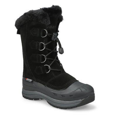 Lds Chloe black wtpf winter boot