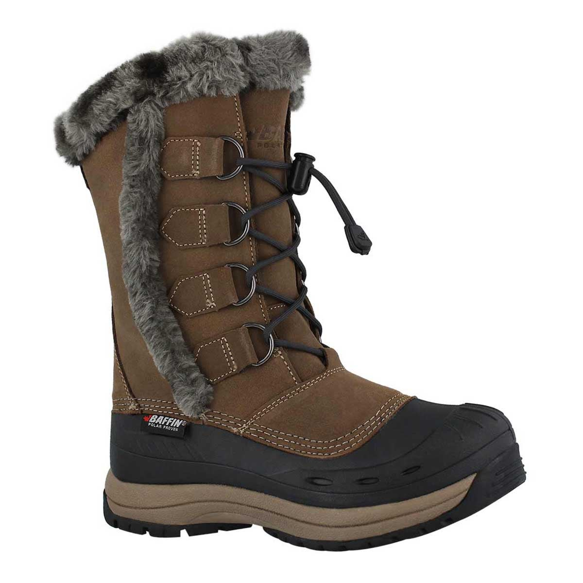 Lds Chloe taupe wtpf winter boot