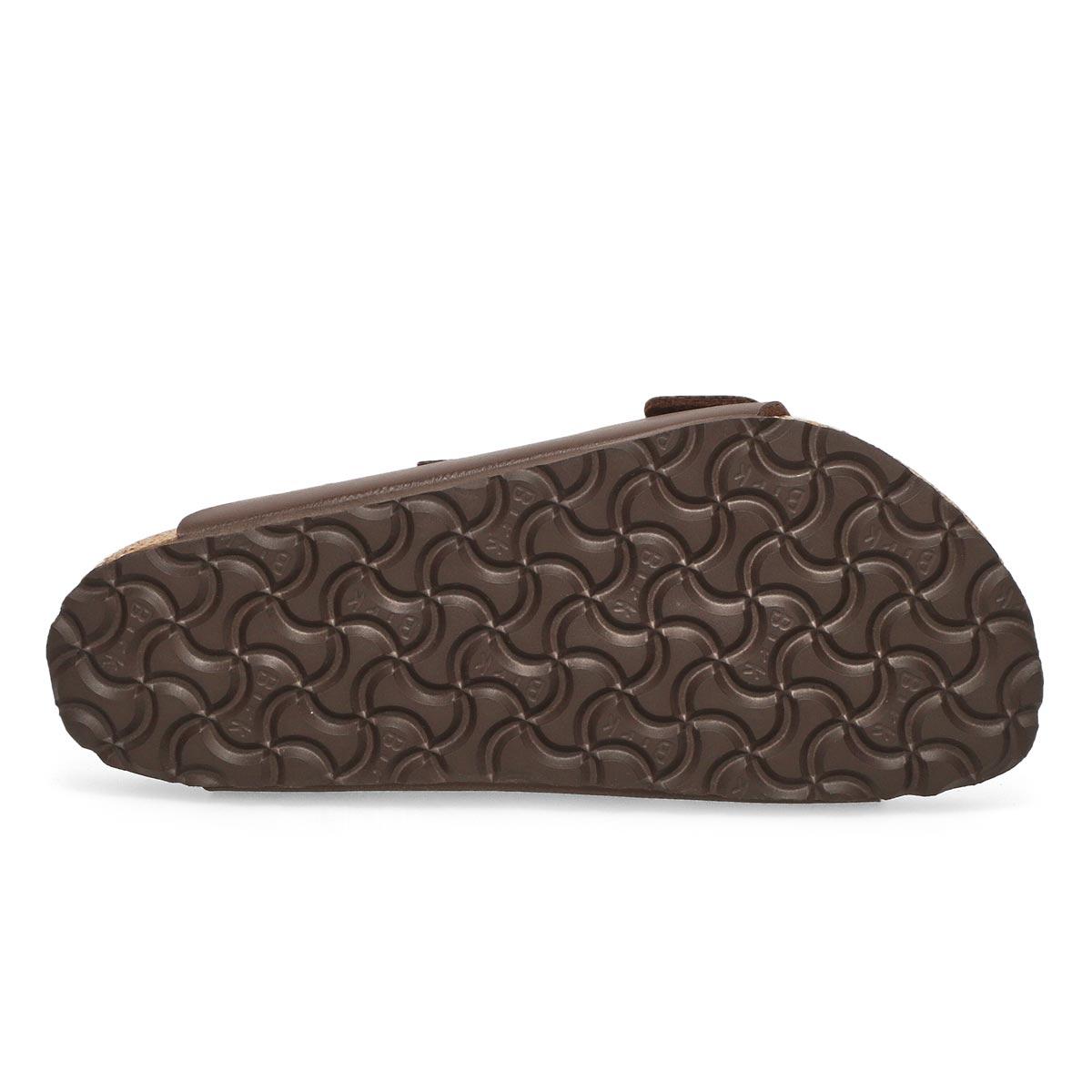 Lds Arizona SF brown 2 strap sandal