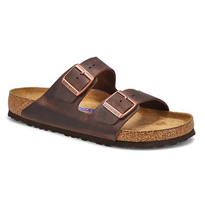 Birkenstock Men's ARIZONA SF havana 2 strap sandals