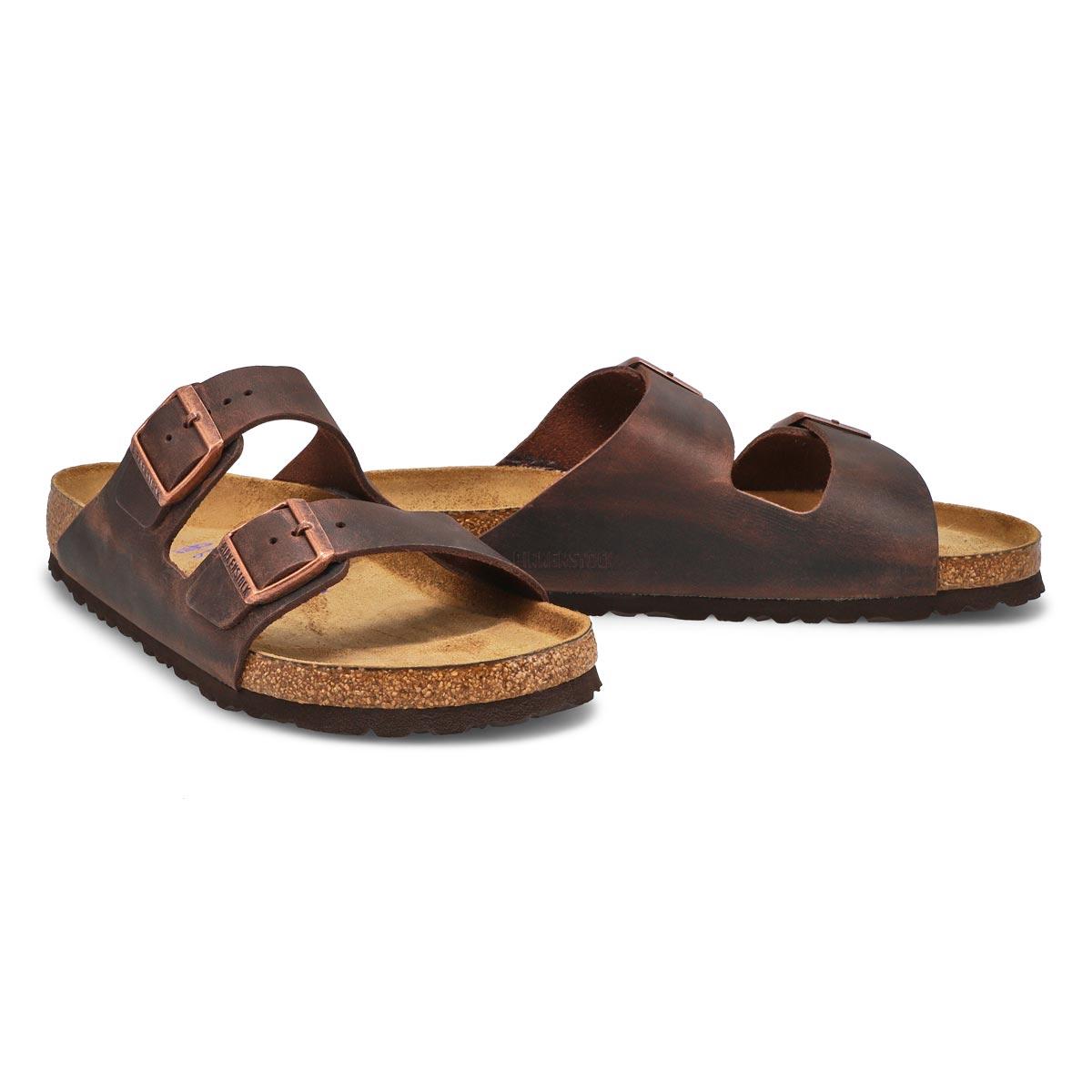 Mns Arizona SF havana 2 strap sandal