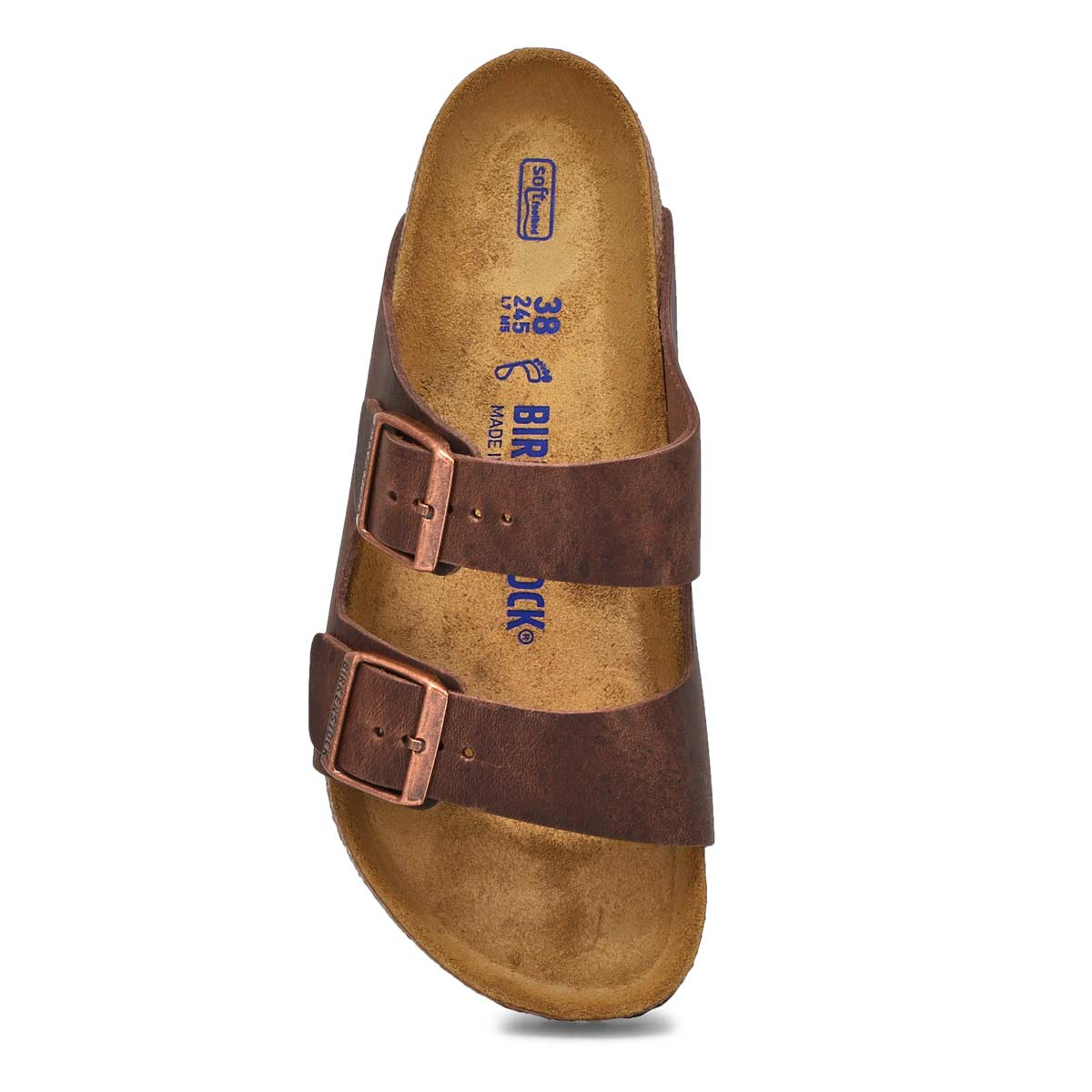 Lds Arizona SF Havana 2 strap sandal