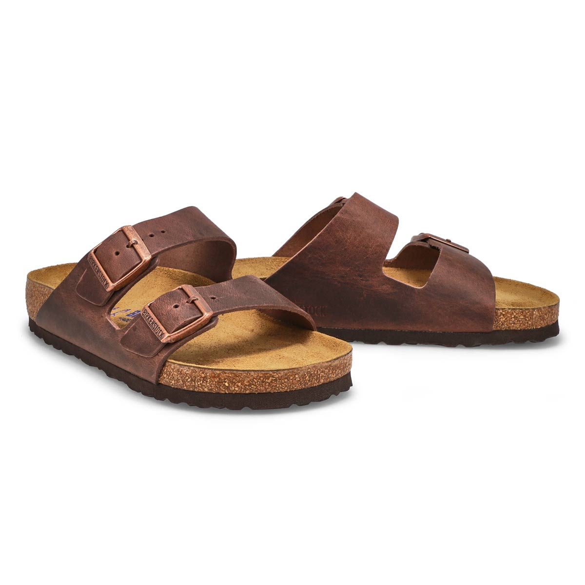 Lds Arizona SF Havana 2 strap sandal
