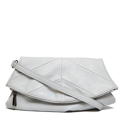 Co-Lab Women's NORA grey 2 strap clutch