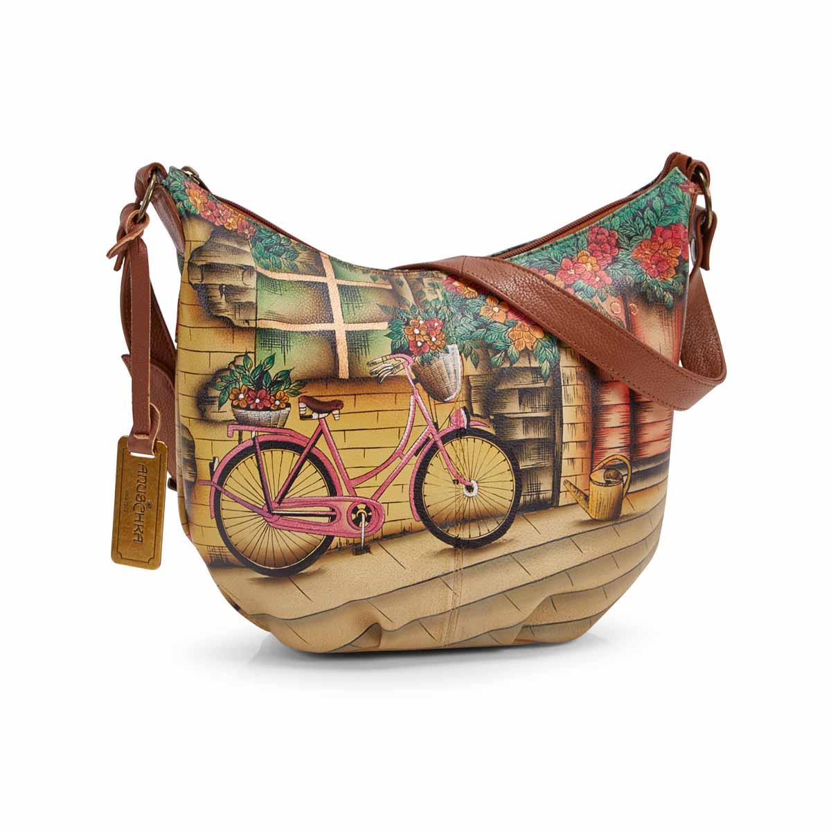 Women's VINTAGE BIKE hobo bag