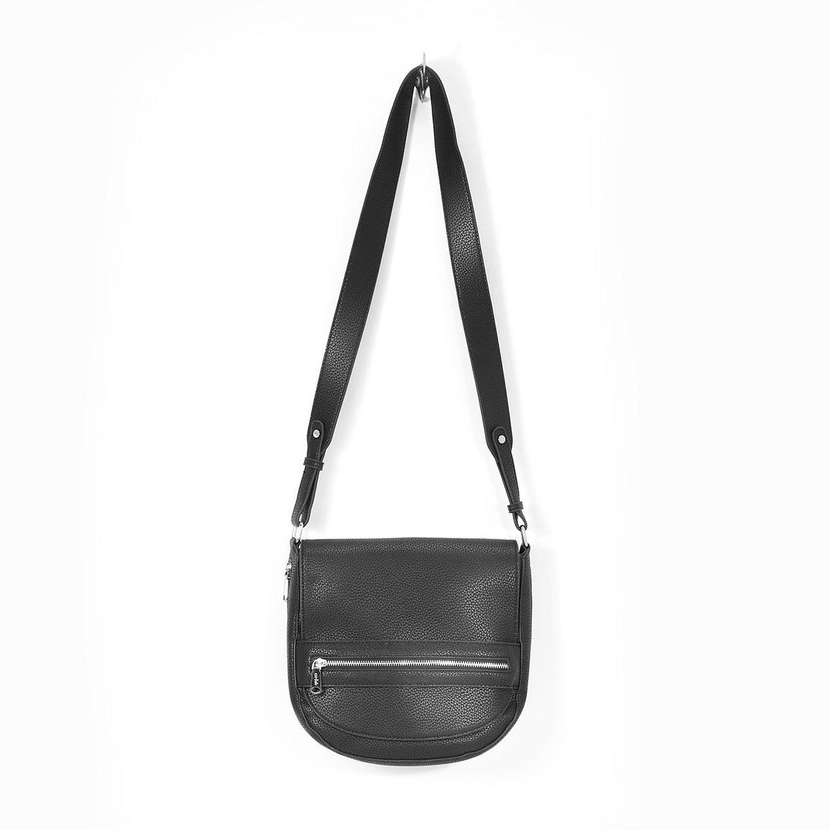 Lds Winnie black cross body bag