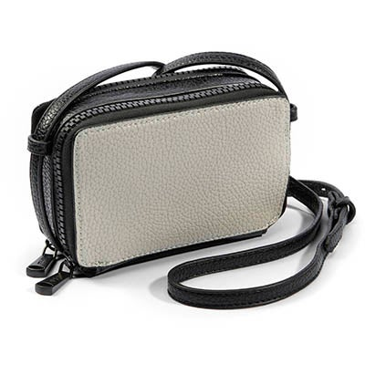Co-Lab Women's SUZIE black/bone mini cross body bag