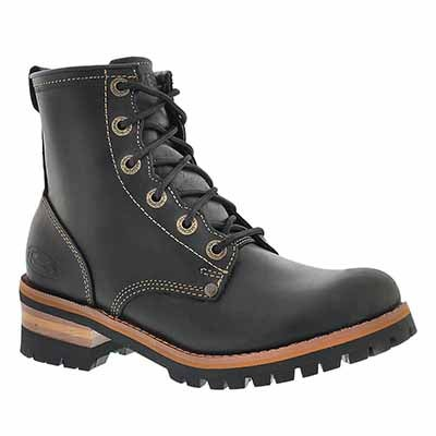 Lds Laramie 2 blk lace up casual boot