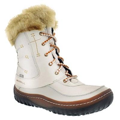 Lds Sonata white wtrpf winter boot