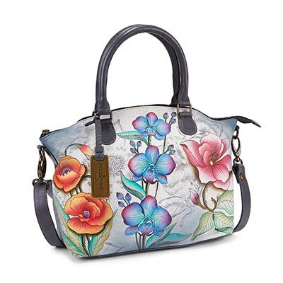 Printed leather Floral Fantasy stachel