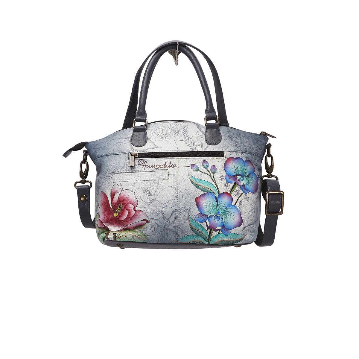 Printed leather Floral Fantasy stachel