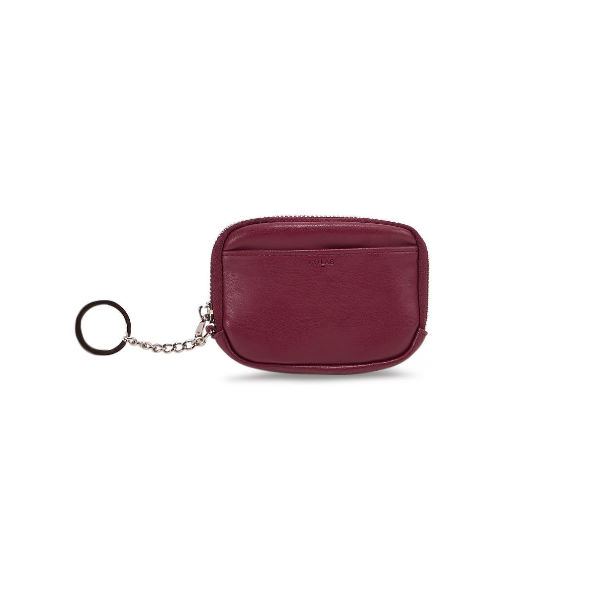 Lds berry zip up wallet