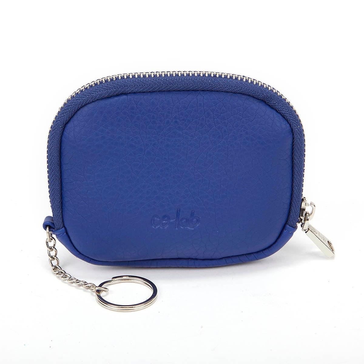 Lds cobalt zip up wallet