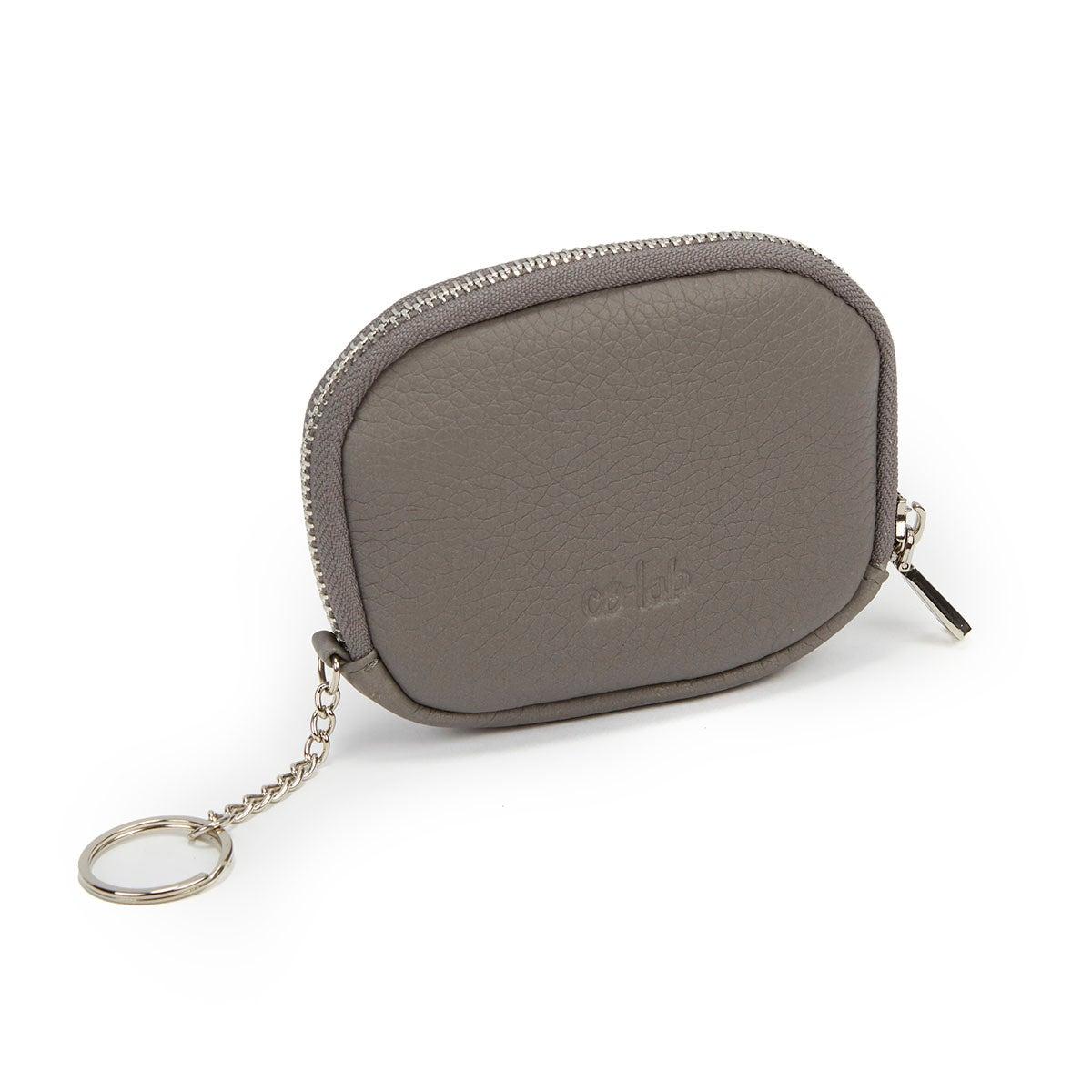 Women's 4888 grey zip up wallet