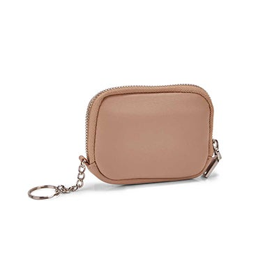 Co-Lab Women's beige zip up wallet