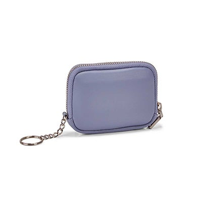 Co-Lab Women's periwinkle zip up wallet