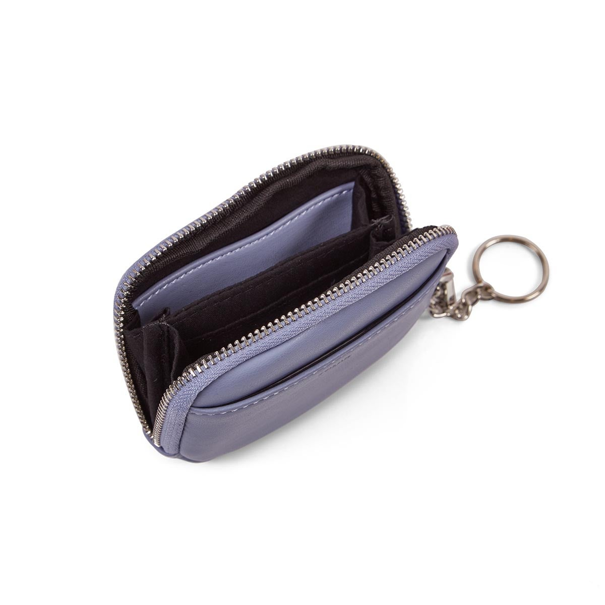 Lds periwinkle zip up wallet