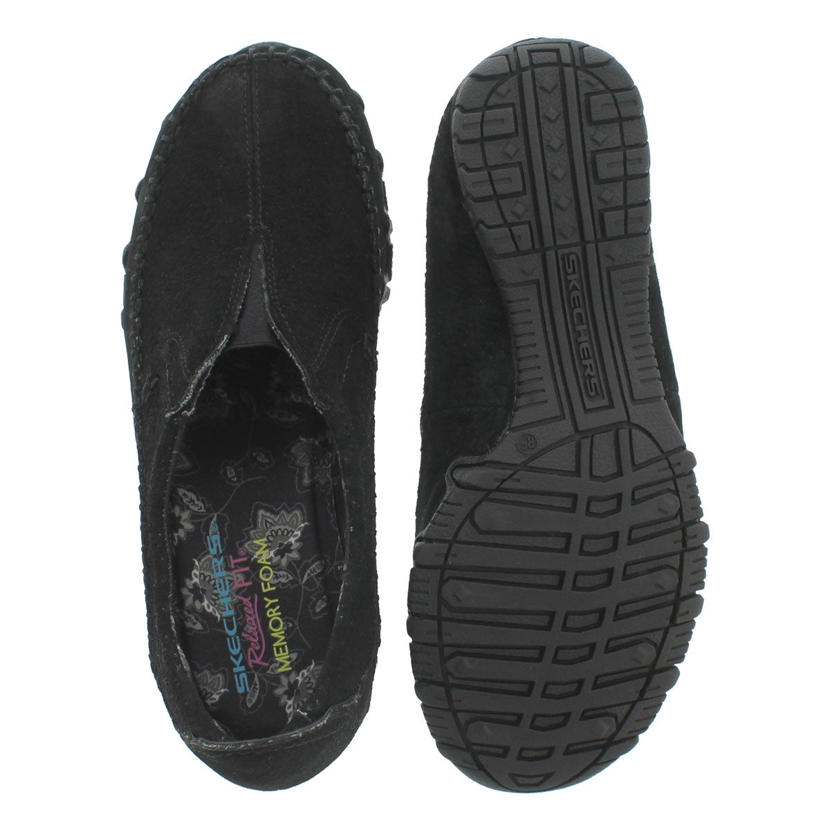Lds Bikers Freeway blk slip on moc