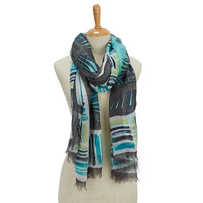 Fraas Women's PARADISE LOST PARADISE green scarves