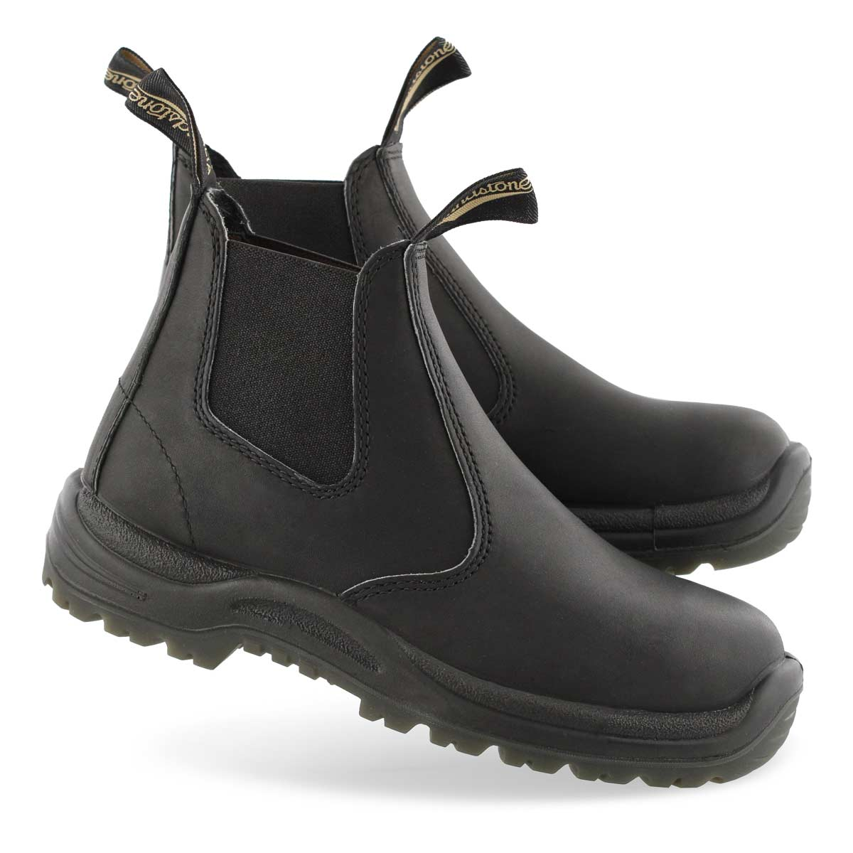 Unisex Chunk 2 black twin gore boot