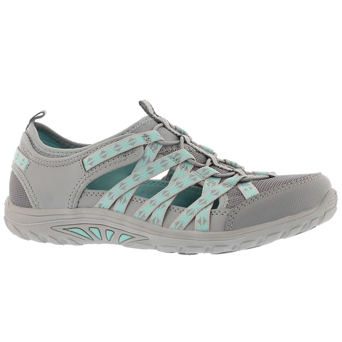 Women's REGGAE FEST DORY grey fisherman sandals