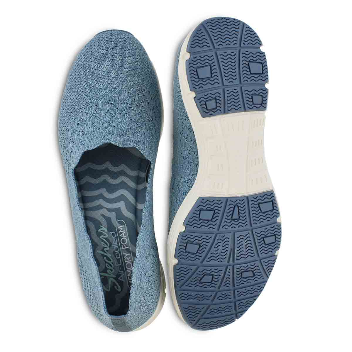 Lds Seager Stat denim slip on shoe