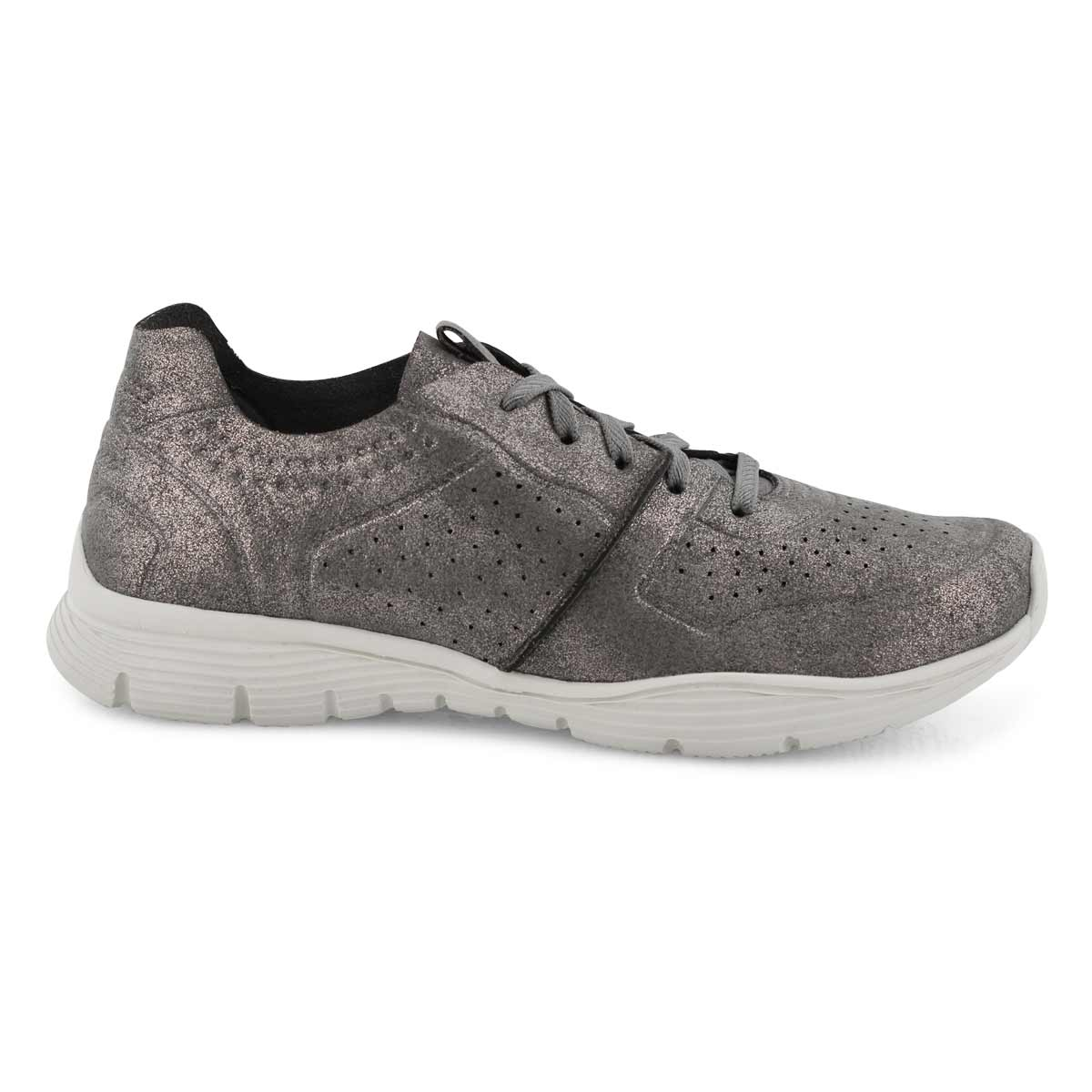 Lds Seager Major League gunmetal sneaker