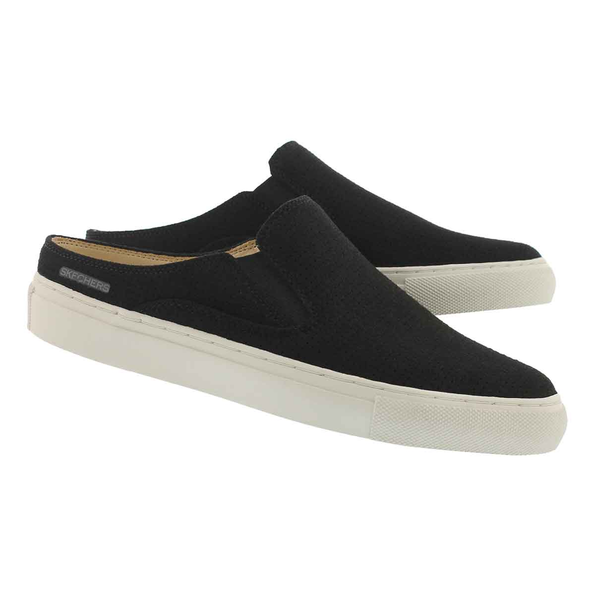Lds Vaso black open back slip on shoe