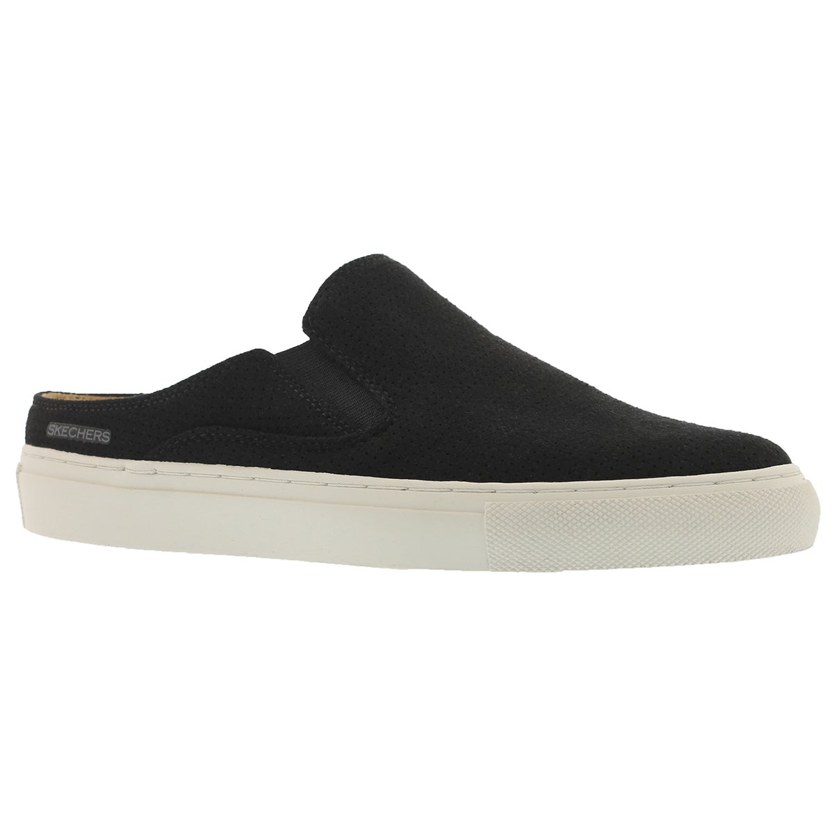 Women's VASO black open back slip on shoes