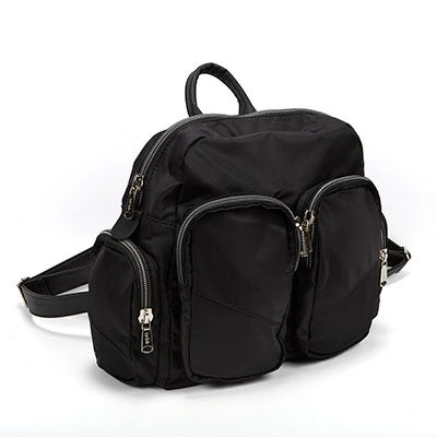 Co-Lab Women's casual black nylon backpack